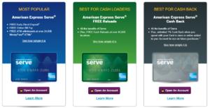 Walmart MoneyCard - Amex Serve Cash Back vs. FREE Reloads